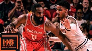 Houston Rockets vs Denver Nuggets Full Game Highlights | March 28, 2018-19 NBA Season