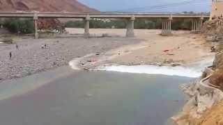 Massive Flood Water in Vadi Fija Saudi Arabia