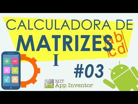 Operações Com Matrizes - 01 de 02 - MIT App Inventor
