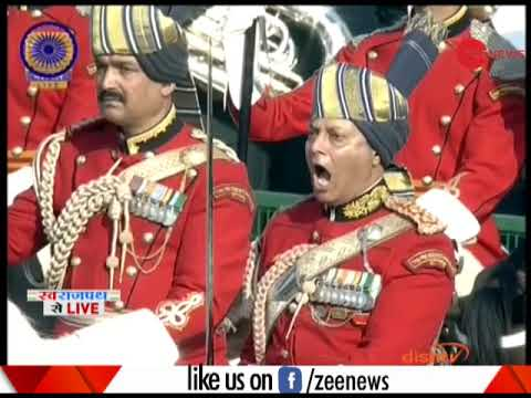 Modi welcomed South African President Cyril Ramaphosa in Rajpath