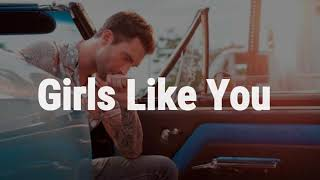 Download lagu Maroon 5 - Girls Like You ft. Cardi B (Lyrics)