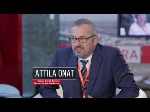 Interview with Attila Onat, Bureau Veritas Kazakhstan. #astrakz #uitp2016