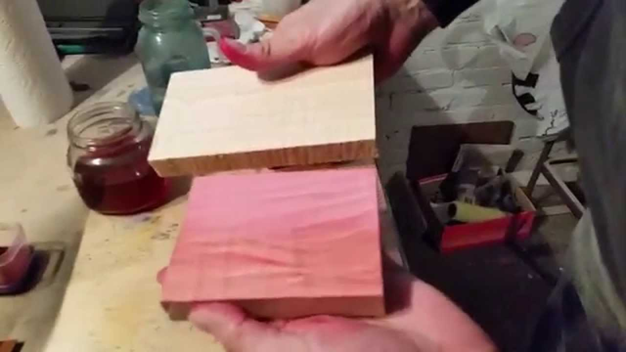 Pink Wood Stain Pink Wood Dye Best Pink Wood Stain Youtube