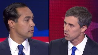 Beto O'Rourke and Julian Castro spar over immigration policy