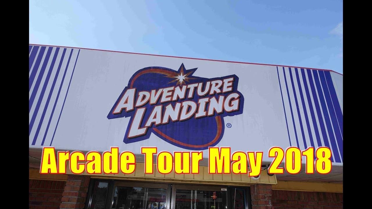 Adventure Landing Fec Arcade Tour Tonawanda Buffalo Ny May