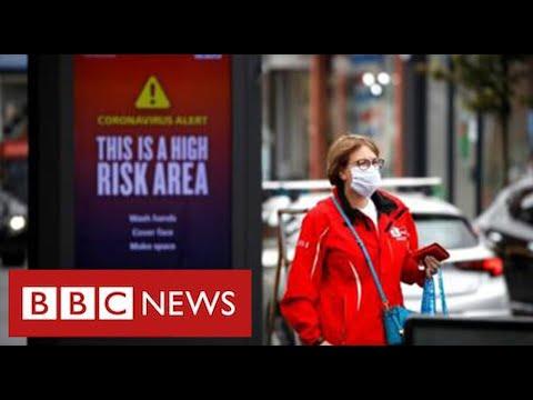 A quarter of UK population under tighter lockdowns as coronavirus cases surge - BBC News