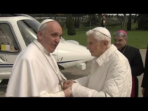Former pope Benedict moves back into the Vatican