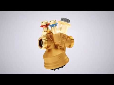 TA-COMPACT-P - the pressure independent balancing and control valve