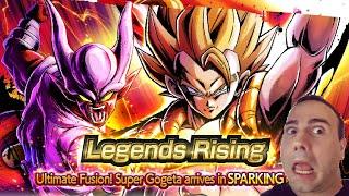 Legends Rising! Ultimate Fusion! Super Gogeta & Janemba Arrive! Dragon Ball Legends!