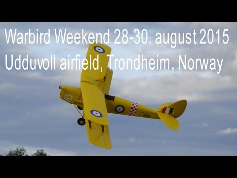 Warbird Weekend 2015 Udduvoll Airfield Norway.