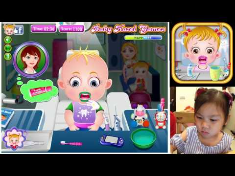 Baby Hazel Game Treatment 小寶貝的生活日誌 一起看牙醫 牙齒打開來給醫生檢查吧 小朋友遊戲手機親子教育遊戲 Sunny Yummy Game Toys