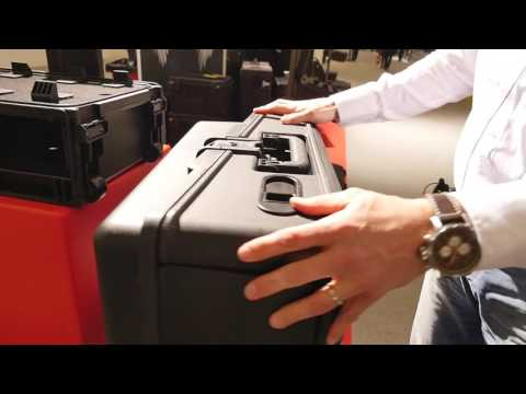 MESSE 2017: Cool Flight Cases from SKB