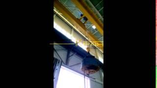 Кран мостовой опорный двухбалочный - испытание(, 2016-02-10T13:22:36.000Z)