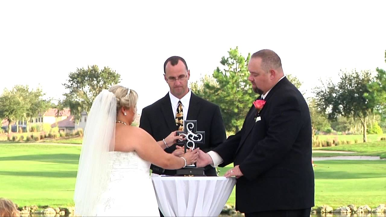 Eagle Creek Golf Club Wedding Unity Cross Ceremony Doovi
