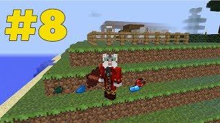 терраформинг местности, овцы и первый водяной слиток (minecraft #8)