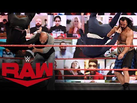 Drew McIntyre and Goldberg take out The Miz & John Morrison: Raw, Jan. 25, 2021
