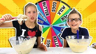 Download MYSTERY WHEEL OF CAKE CHALLENGE!!! Mp3 and Videos