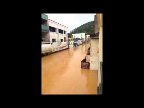 Internauta Felipe Dondoni registra em vídeo enchente em Rio Bananal