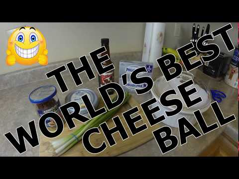 The World's Best Homemade Cheeseball Recipe | Effortless! | Delicious!