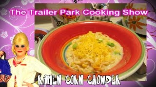 Ramen Noodle Corn Chowder