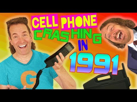CELL PHONE CRASHING in 1991!