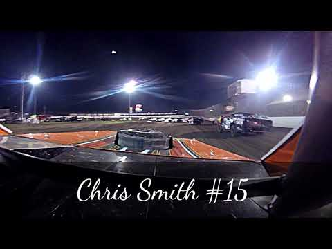 In Car cam of Chris Smith @ Fairbury American Legion Speedway 7-28-17