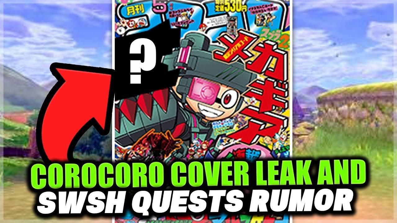 New Rumors For Pokemon Sword And Pokemon Shield Corocoro Cover