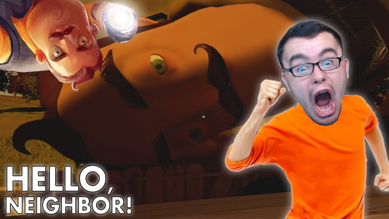 Hello Neighbor #1 Gameplay | GIANT INTRUDER WATCH OUT!!!!