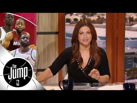 NBA playoffs are Dwyane Wade's time of year | The Jump | ESPN
