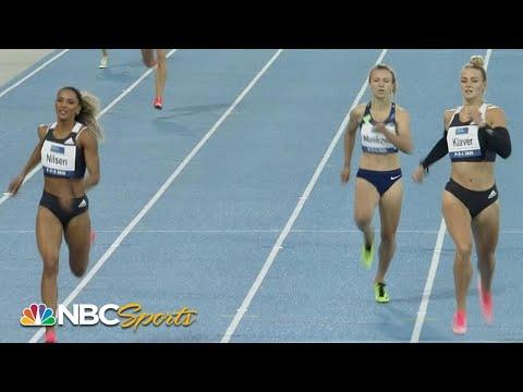 Thrilling comeback in Continental Tour 400m | NBC Sports