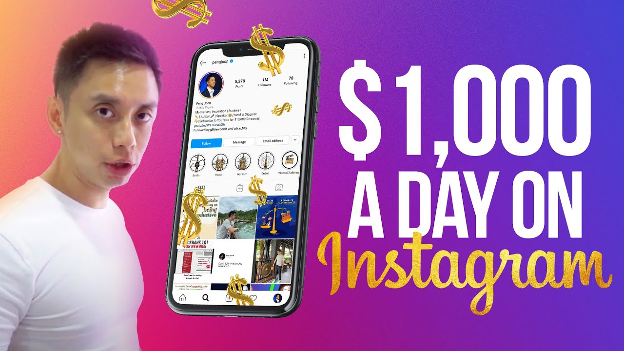 Download How to Make $1,000 a Day With Instagram Doing Giveaways (New 2021 Opportunity)