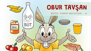 Obur Tavşan - 5 Masal Sorusu - Sesli Masal Dinle - Okul Öncesi Eğitim