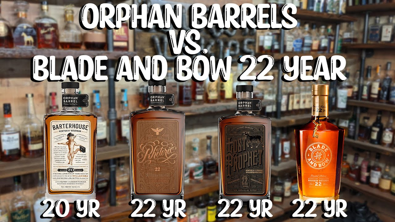 What 20+ Year Whiskey is Best? Blade and Bow 22 vs. Orphan Barrels!