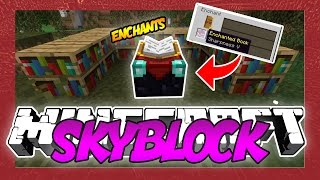 NEW ENCHANT TABLE! Minecraft SKYBLOCK 16 w/LandonMC