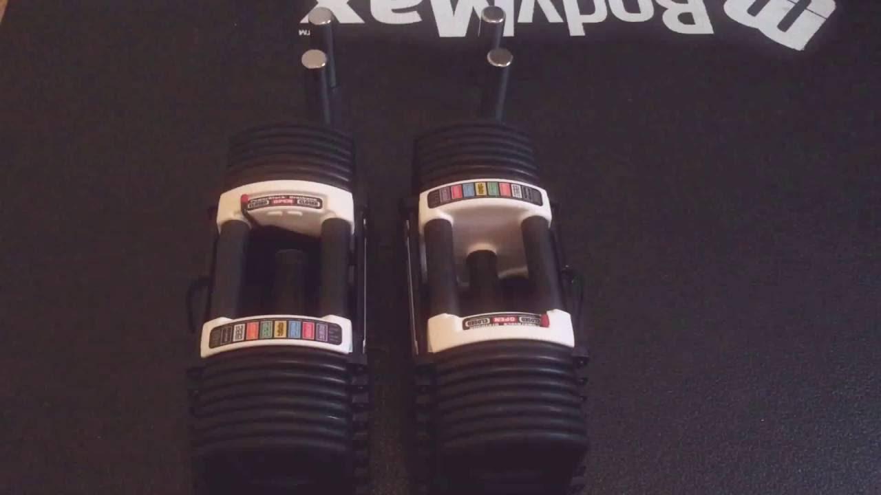 Powerblock classic adjustable dumbbell set reviews - Powerblock Urethane 90 Adjustable Dumbbells Review