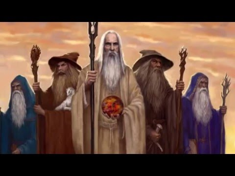 the five wizards of middle earth famouslordbrysonfreeman youtube