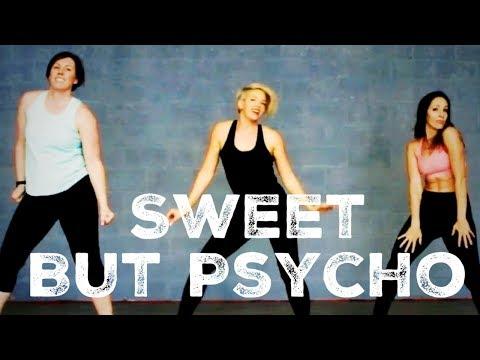 Sweet But Psycho Sassy WARM UP  For Dancefit Zumba Warm Up Sexy Fun Cardio