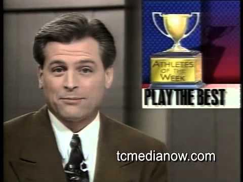 KARE-TV Jeff Passolt's final night.  January 1994