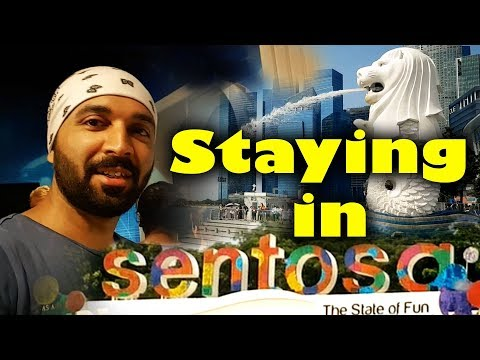 Sentosa Island   Visit Singapore   Travel Vlog   The Hunger Blogger