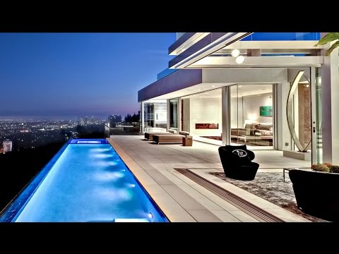 Exclusive West Hollywood Modern Contemporary Luxury Residence in Los Angeles, CA, USA