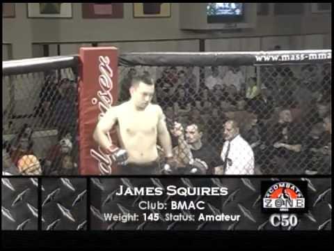 Jake Pilla vs  James Squires - Combat Zone 50