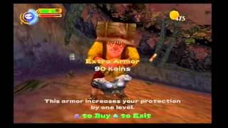 Maximo Vs. Army of Zin Walkthrough (PS2) level 5: The Forest Of Fear!! (Mastered)