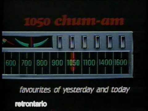 The New 1050 CHUM-AM 1986