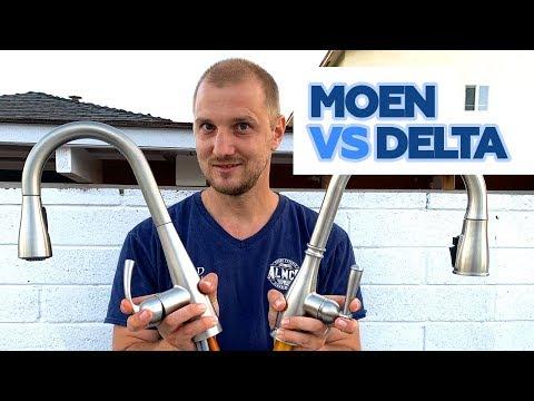 MOEN Vs Delta Kitchen Faucet Review