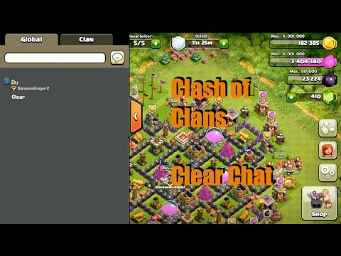 Clear Chat: Clash of Clans (Deutsche Version für iOS) Global Chat