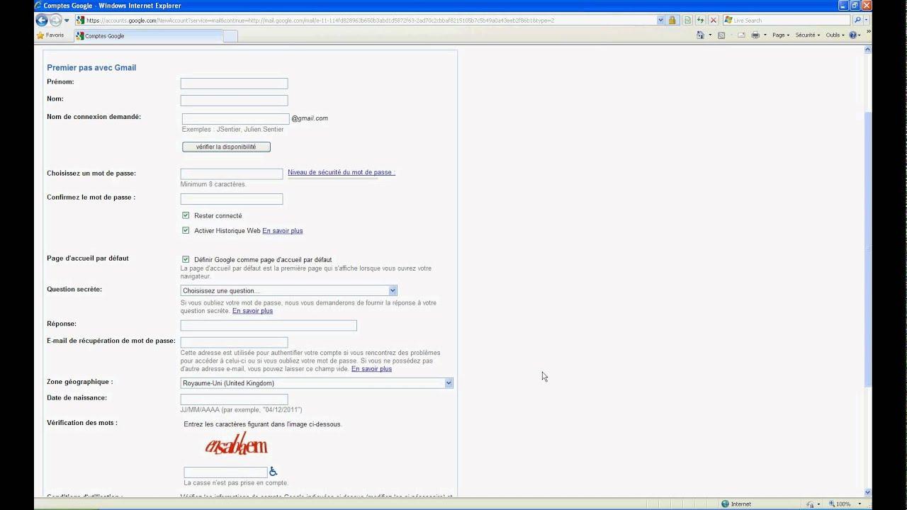 Comment Créer Une Adresse Gmail Facilement