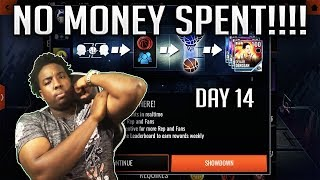 NBA LIVE MOBILE 18 CHILL STREAM | GRINDING OUT SHOWDOWN NO MONEY SPENT!!! DAY 14/30