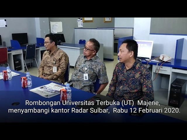 Kunjungan UT Majene Ke Kantor Radar Sulbar