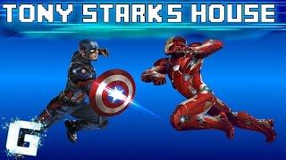 Tony Stark's House | Captain America Civil War! | ROBLOX GAMEPLAY