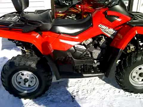 quad can am bombardier 800 max